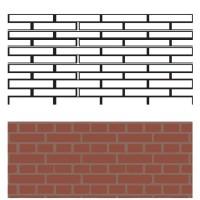 Трафарет Ceresit Visage Boston Brick, 15шт (13,73 кв.м), упак