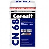 Ceresit CN 68 - Самонивелирующаяся гипсоцементная смесь, слой 3-60мм, 25кг, РБ