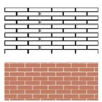 Трафарет Ceresit Visage London Brick, 15шт (13,73 кв.м), упак