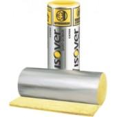 Изовер Сауна - Утеплитель для бань и саун с фольгированным слоем, толщина 50 - 100мм, в ассортименте, РФ, упак.