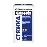 Ceresit Стяжка - Смесь для устройства стяжек, толщина слоя 30-100мм, 25 кг, РБ