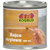 Kosbud Tabulo - Акриловая морилка для однородной окраски элементов, 0.1 литра, Польша