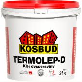 Kosbud Termolep D - Дисперсионный клей-фуга для приклеивания гибкой облицовки TABULO, KLINKIERO, STONO, 5-20 кг, Польша
