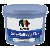 Caparol Capa-Rollputz Flex Base 1 - Декоративная готовая штукатурка, моделируемая, для наружных работ, РБ, 25кг