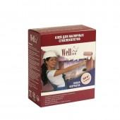 Wellton Сухой клей для малярных стеклохолстов и флизелинов, 0,3 кг, РФ