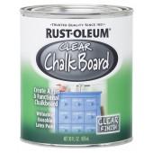 Rust Oleum Clear Chalk Board – Колеруемая грифельная краска, 0,822 литра, США