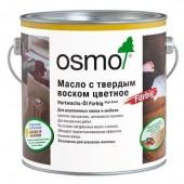 OSMO Hartwachs ӦL Farbig - Масло с твердым воском цветное, 0,125-2,5 литров, Германия