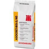 Schomburg Asocret-BIS-5/40 - раствор для ремонта повреждений от 5 до 40 мм, 25 кг, Германия.