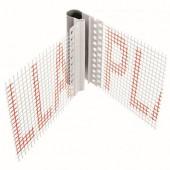 Bella Plast - Деформационный V-образный профиль для фасадов, 2000-2500 мм в ассортименте, Польша