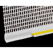 Profil Systems - Профиль примыкания к проемам ПВХ 6-9 мм с армирующей сеткой и манжетой, 2.4 м