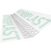 Bella Plast BP 4 - Уголок для развернутых углов с сеткой в рулоне, 25м, Польша