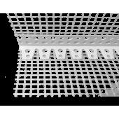 Profil Systems - Уголок арочный ПВХ с сеткой, 2,5 - 3 м в ассортименте, РФ