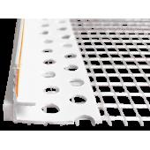 Profil Systems - Профиль примыкающий к проемам усиленный с сеткой, 6 - 9 мм, 2,4 м, РФ