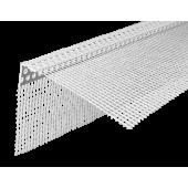 Profil Systems - Уголок фасадный ПВХ со стеклосеткой, в ассортименте, 2.5м, РФ