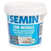 Semin SEM-MURALE - Готовый клей для гибких декоративных покрытий, 10 кг, РФ