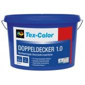 Tex-color DoppelDecker 1 - Супер стойкая глубоко-матовая краска, 12,5 литра, Германия
