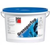 Baumit GranoporTop - Декоративная фактурная штукатурка, 25 кг РФ