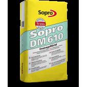 Sopro DM 610 – Дренажный раствор для укладки натурального камня, 25 кг, Польша