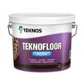 Teknos Teknofloor Aqua - Акрилатная краска для полов, 0.9 - 9 л, Финляндия