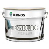 Teknos Teknofloor - Краска для деревянных и бетонных полов, 0.9 - 9 л, Финляндия