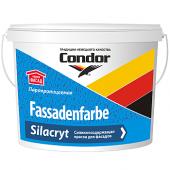 Condor Fassadenfarbe Silacryt - Силакриловая фасадная краска, белая, 5-10 литров, РБ