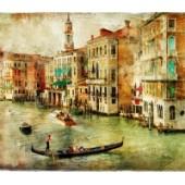 GreenBerry декоративное панно, 088 (Венеция открытка), размер 3.10 * 2,7 м, 3л.