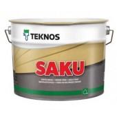 Teknos Saku - Акрилатная матовая краска по бетону 0.9-9 л, Финляндия