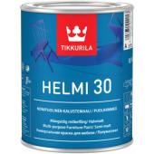 Tikkurila Helmi 30 Base A - Универсальная краска для мебели, 0.225 - 2.7 л., Финляндия