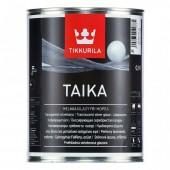 Tikkurila Taika Helmiäislasyyri - Одноцветная перламутровая лазурь, 0.9 л, Финляндия