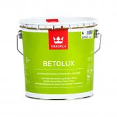 Tikkurila Betolux Base A - Органоразбавляемая краска для полов, белая, 0,9 - 9 л, Финляндия