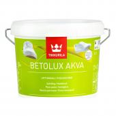 Tikkurila Betolux Akva Base A - Краска для пола, белая, 0,9 - 9 л, Финляндия
