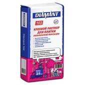 Diamant 102 (Диамант 102) - Клей для плитки повышенной фиксации, 25 кг, РБ