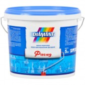 Diamant Фасад - Атмосферостойкая фасадная краска, 5-10 литров, РБ.