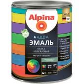 Alpina АКВА эмаль Б 1 - Эмаль по дереву и металлу колеруемая, 0,9-2,5 л, РБ