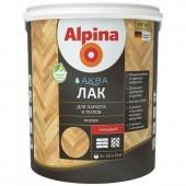 Alpina Аква Лак - Лак для паркета и полов, 0.9-10 л, РБ