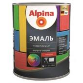 Alpina эмаль универсальная Б 1 - Алкидная эмаль под колеровку, в ассортименте, 0,75-10 литров, РБ