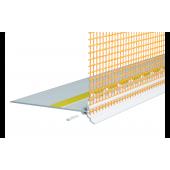 Capatect Thermoprofil 6680/30 - Цокольный внешний закрывающий профиль, Длина 2 м, Германия