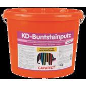 Capatect KD-Bundsteinputz - Мозаичная штукатурка для цоколя, Австрия, 25 кг.