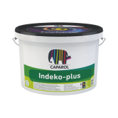 Caparol Indeko plus E.L.F B.1 - Интерьерная матовая краска, белая, 2.5-10 литров, Германия.