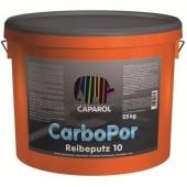 Capatect CarboPor K10; K15; K20; K30 - Карбоновая, крайне прочная декоративная штукатурка, светлые тона (Система Caparol Carbon), Германия, 25 кг
