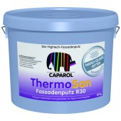 Capatect ThermoSan Fassadenputz Base 1 K15; K20; K30; R20; R30 - Гибридная штукатурка с NQG (система Caparol Carbon), Германия, 25кг
