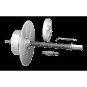 Монтажный набор с фрезой для скрытого монтажа дюбелей Capatect Universaldubel Tool 053/02. Для дюбелей Capatect 053