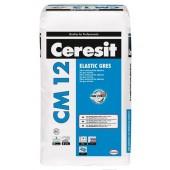"""Ceresit CM 12 - Клей для крупноразмерной плитки C0, типа """"Грес"""", 25 кг, РБ"""