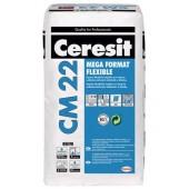 Ceresit CM 22 - Высокоэластичный клей C2TES1 для крупноформатной плитки, 25 кг, Польша