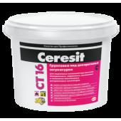 Ceresit CT 16 - Грунтующая краска для внутренних и наружных работ, 5-10 литров, РБ.