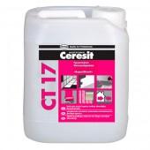 Ceresit CT 17 - Грунтовка бесцветная, концентрат 1:1, 5-10 литров, РБ.