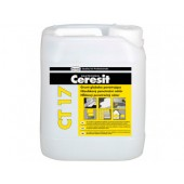 Ceresit CT 17 - Грунтовка глубокопроникающая, желтая, концентрат 1:1, 5-10 литров, РБ.