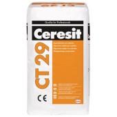 Ceresit CT 29 - Шпатлевка полимерминеральная цементная, для внутренних и наружных работ, 25 кг, РБ