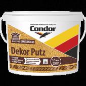 "Condor DEKOR PUTZ - Готовая декоративная штукатурка. Фактура ""Камешковая"" , фракции 1,5 мм и 2,5 мм, РБ, 14 л"