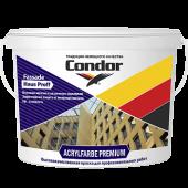 Condor Acrylfarbe Premium - Акрилатная фасадная краска, белая, 10 л, РБ